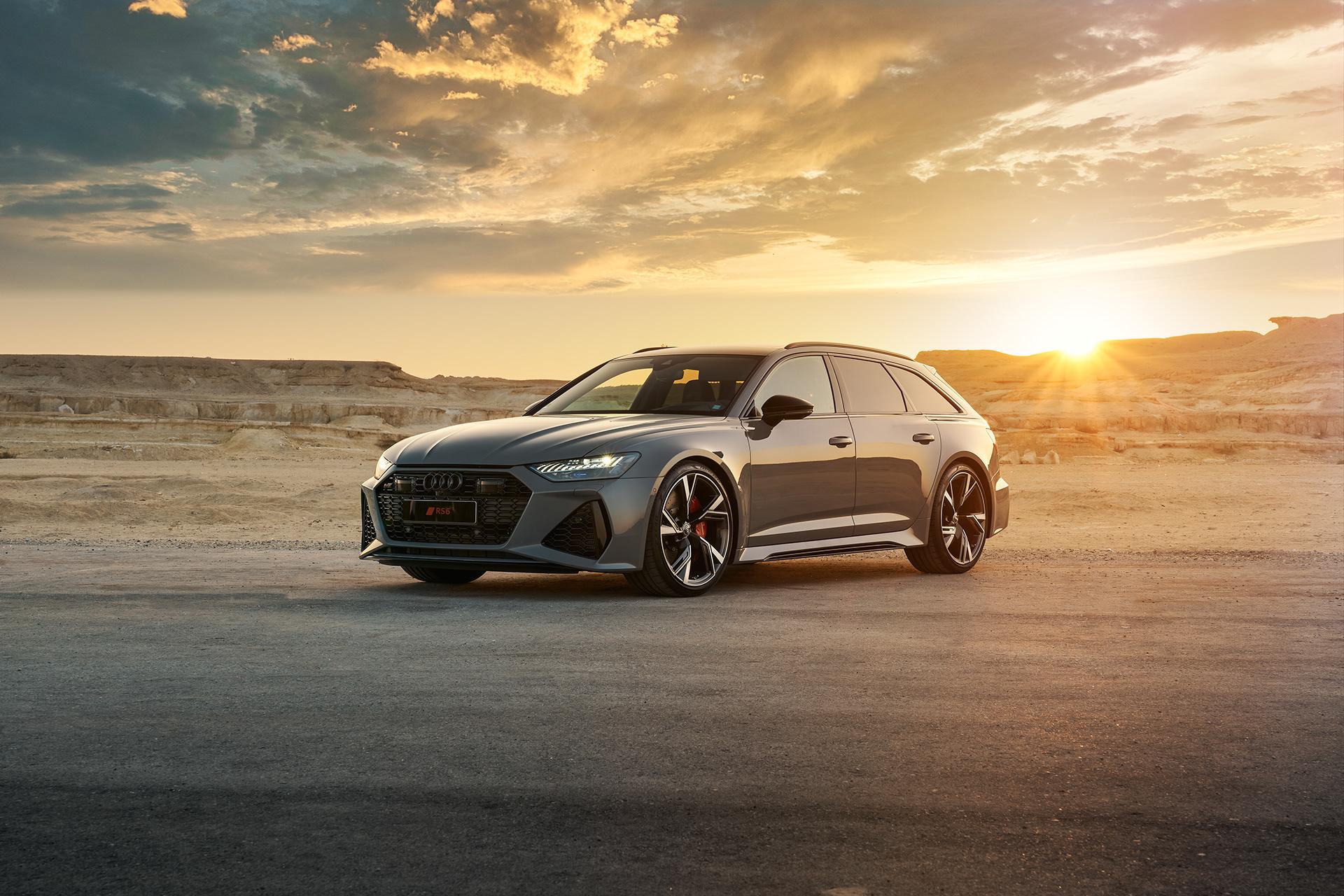 2021 Audi RS6 on Behance