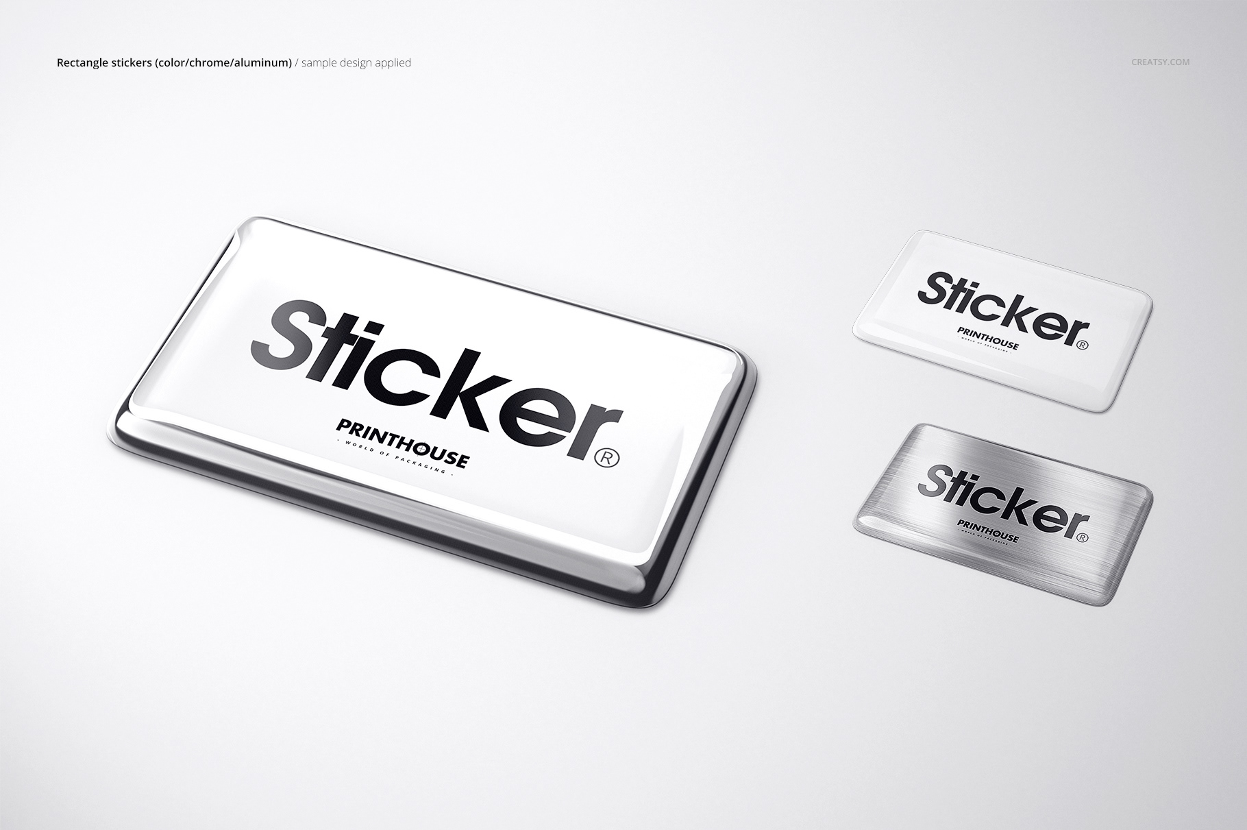 3d Epoxy Dome Stickers Mockup Set On Behance