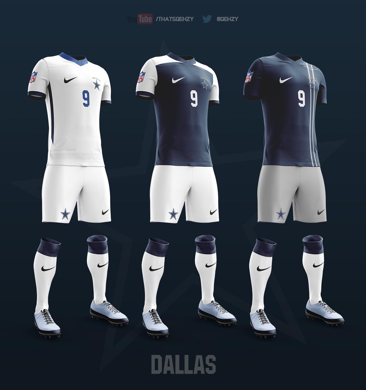 d6cb527af47 NFL Soccer Kits on Behance