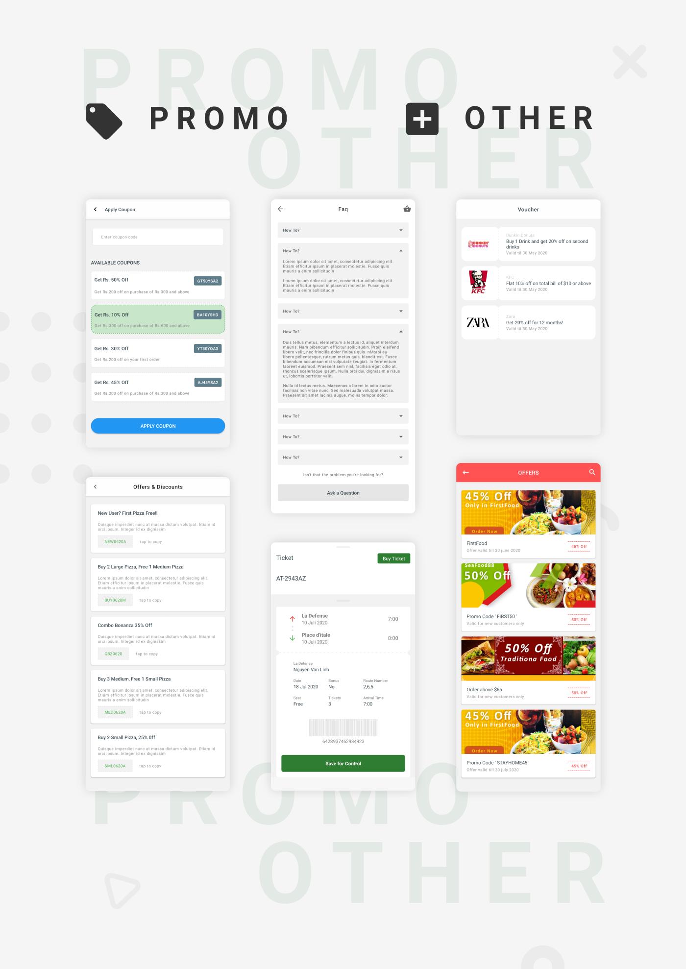 EcommerceX - Premium Ecommerce App UI Kit Template 1.0 - 9