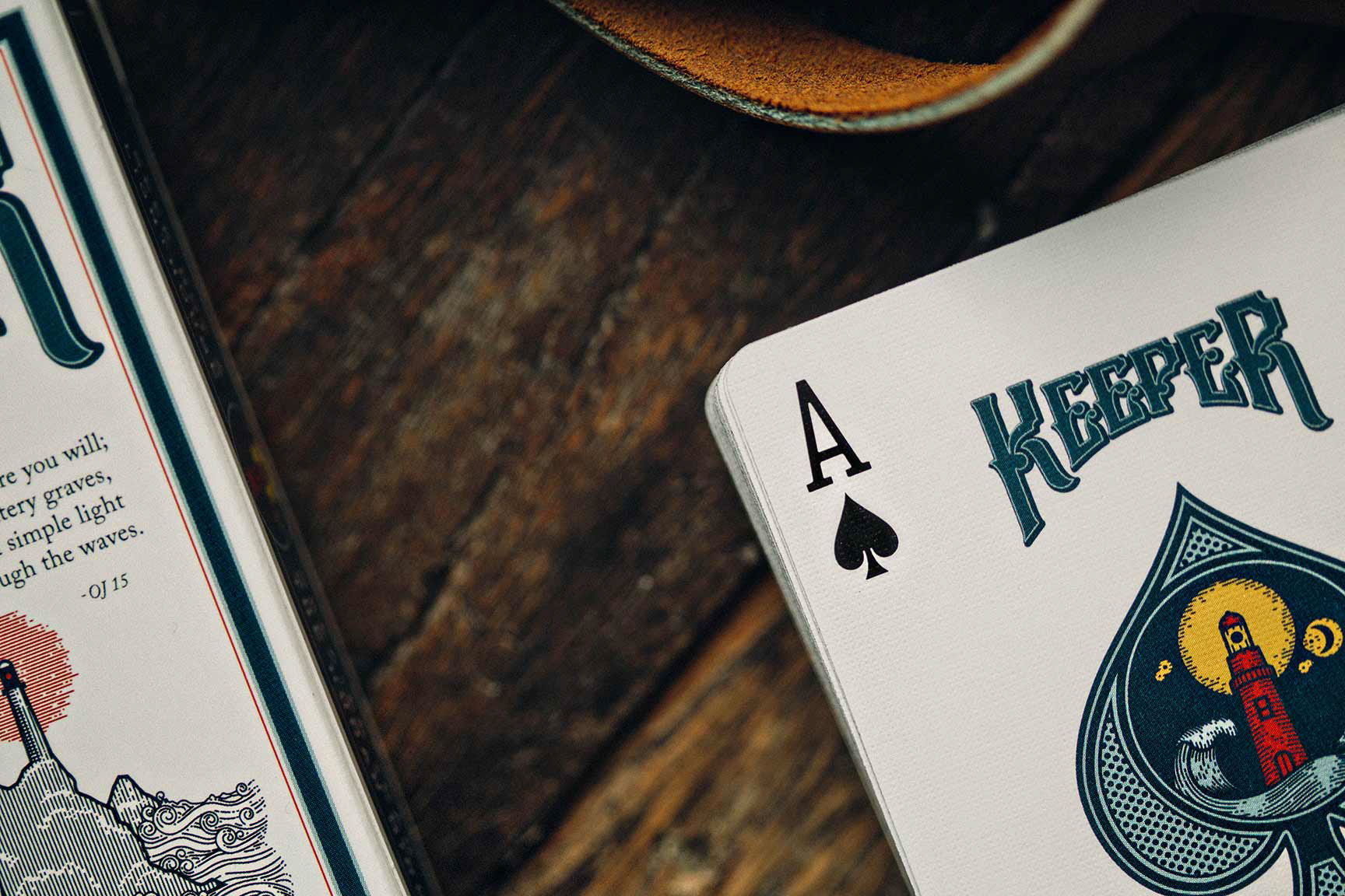 Keeper - Playing cards on Behance