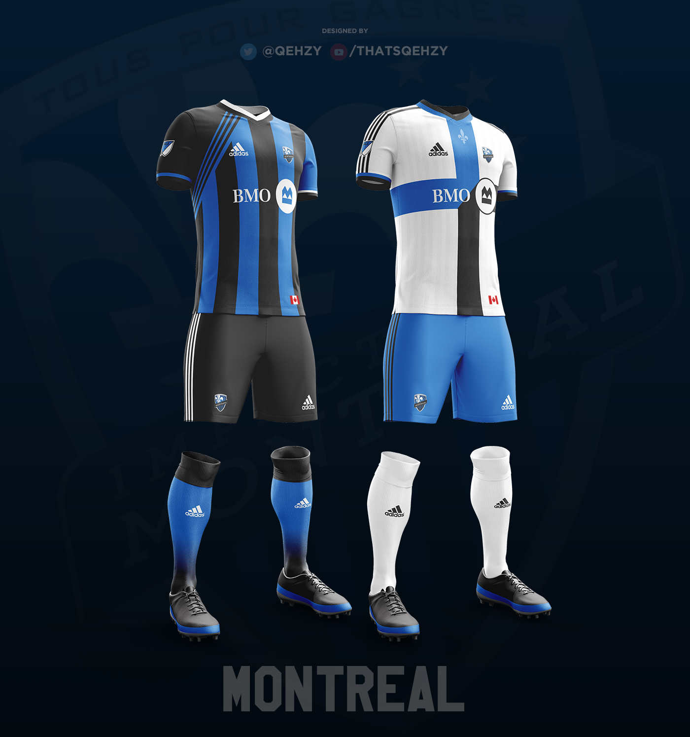 new style b5d32 f3443 MLS Kits Redesigned (2017) on Behance