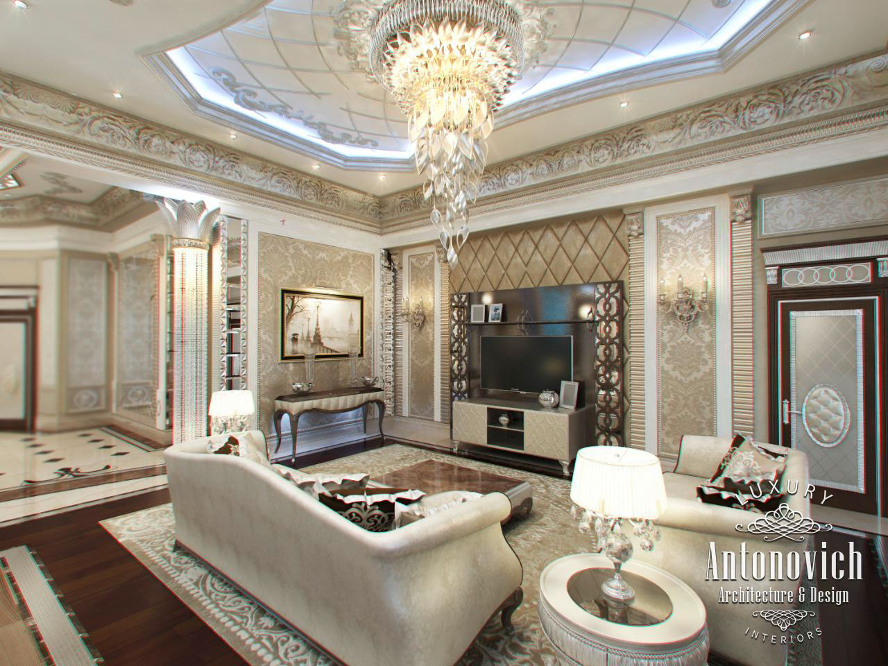 Interior Design Company In Dubai Antonovich On Behance