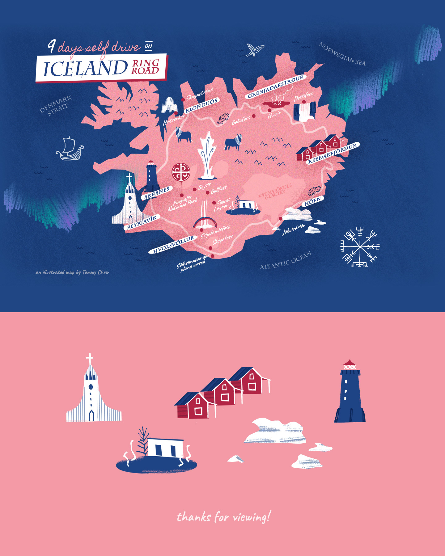 Illustrated map: Iceland on Behance on poland map, mexico map, netherlands map, greece map, united kingdom map, cuba map, europe map, hungary map, scotland map, road map, germany map, japan map, india map, russia map, ireland map, italy map, keflavik airport map, spain map, scandinavia map, greenland map,