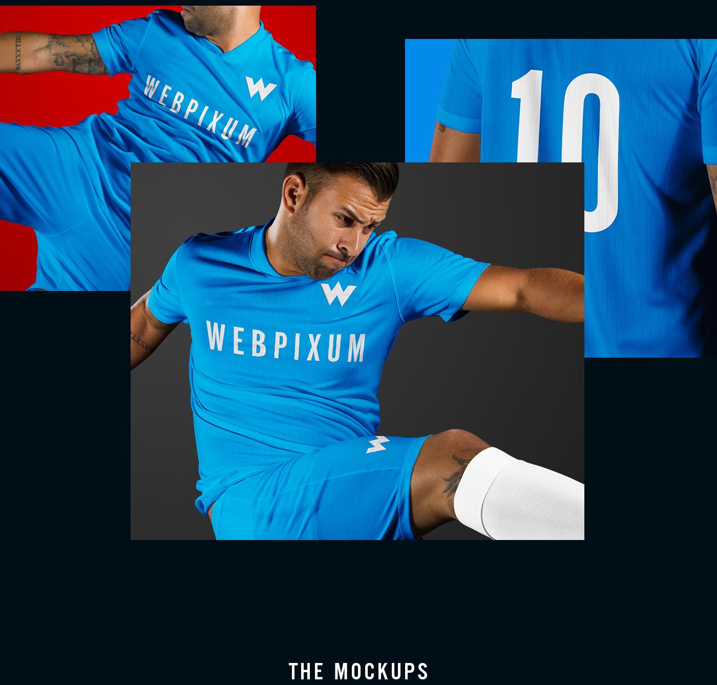 5d4dd04d9 MLS Soccer Kit Mockups - FREE PSD on Behance