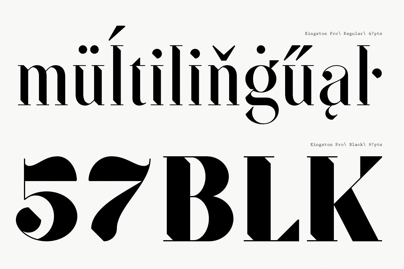SF Kingston | Free Font on Behance