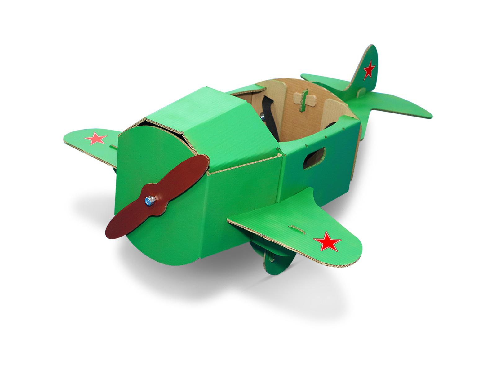 Самолет своими руками из картона и бумаги своими руками