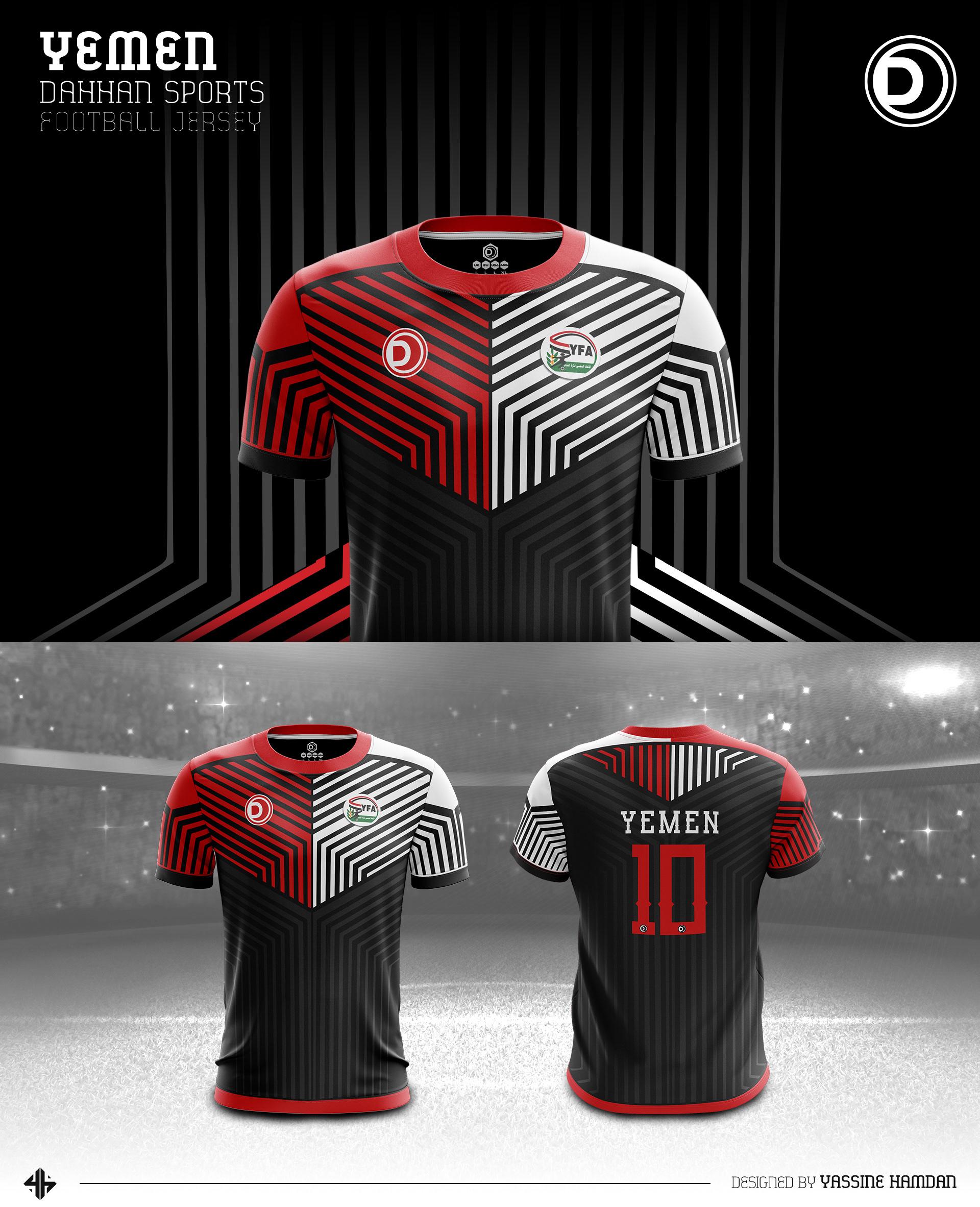 26e529c4d8e Dahhan Sports Football Kits on Behance