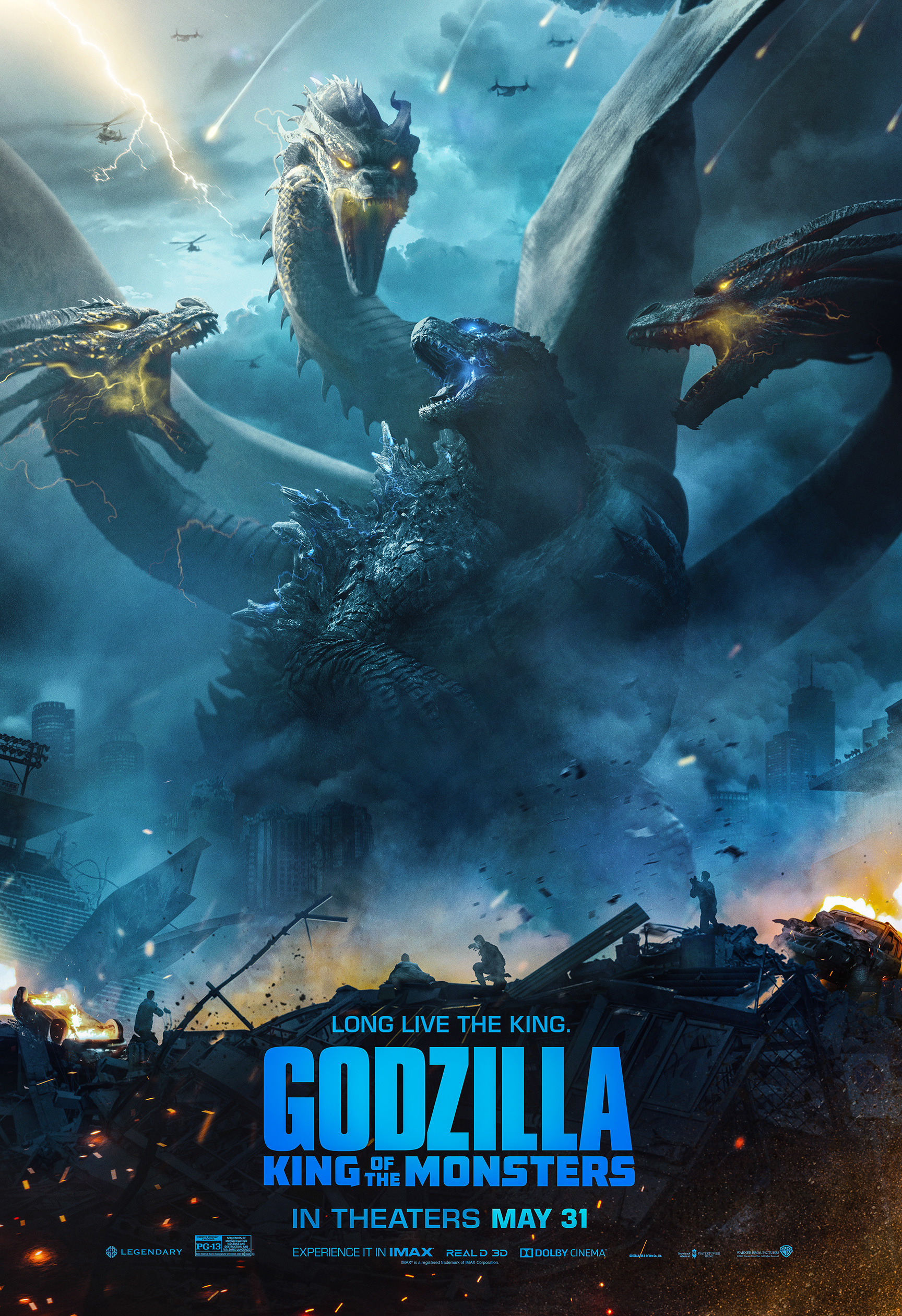 Godzilla: King of the Monsters Fan & Key Art Roundup