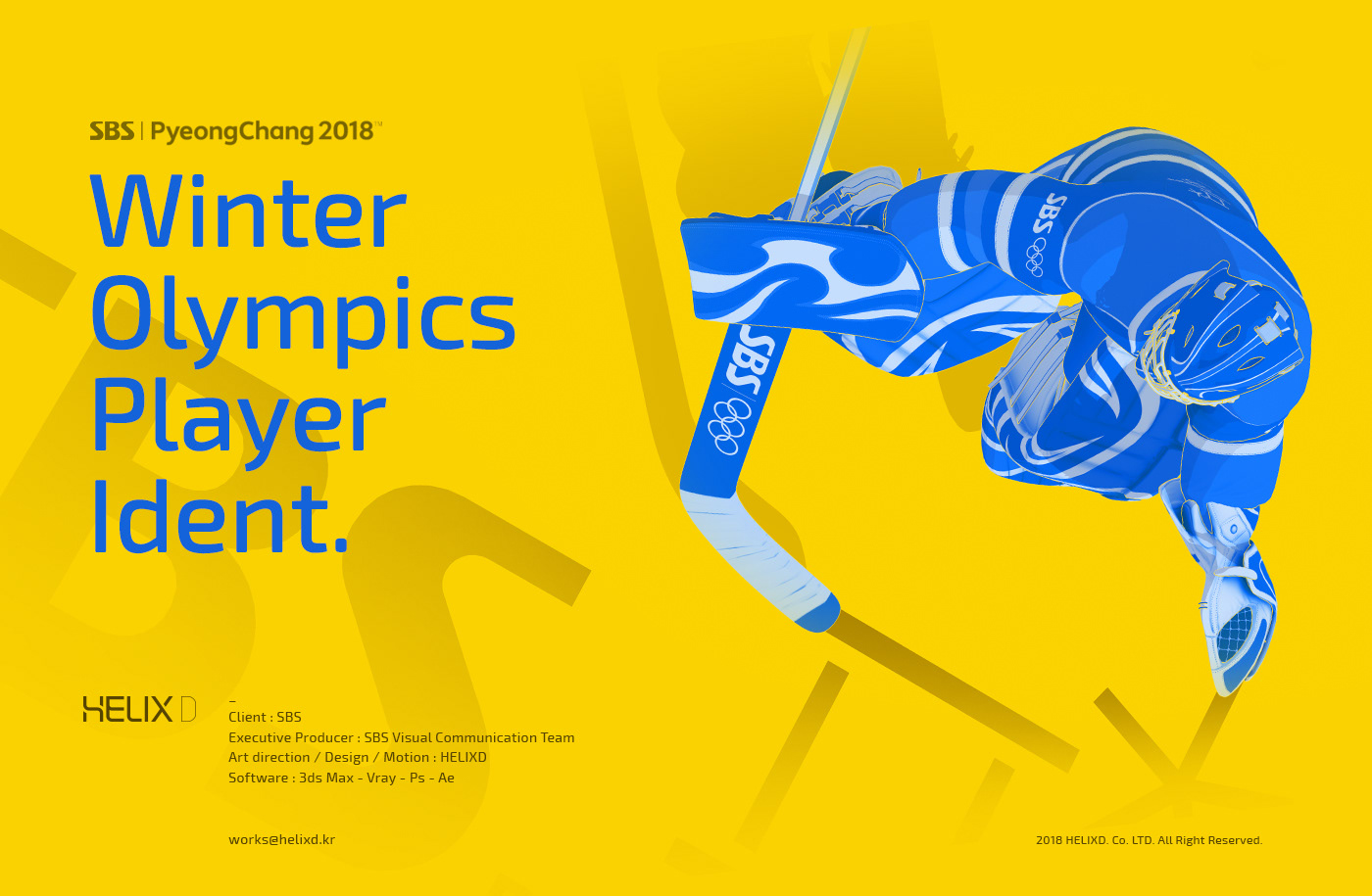 WINTER OLYMPICS PLAYER IDENT on Behance