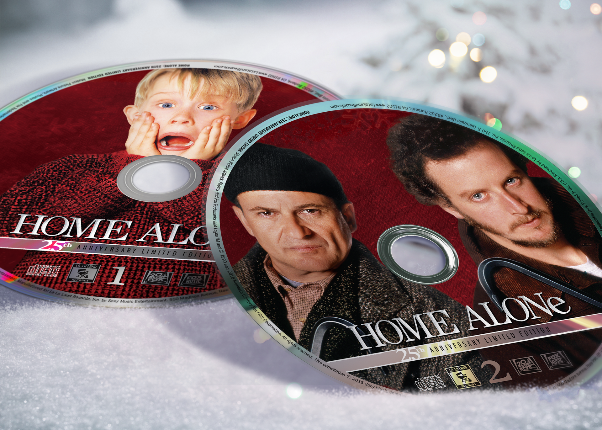 Home alone soundtrack