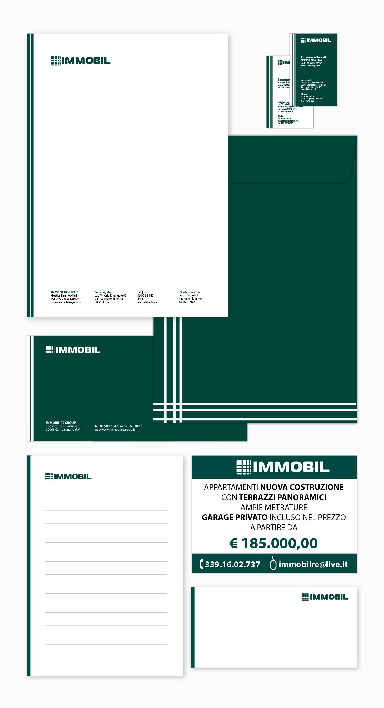 Showroom It Rignano Flaminio immobil // brand indentity on behance