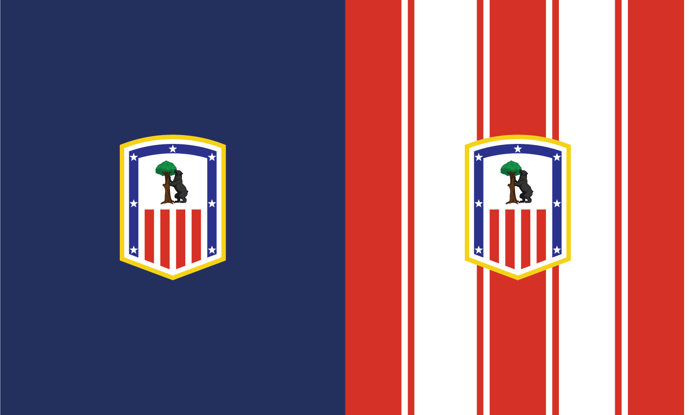 Atletico De Madrid Logo Redesign On Behance
