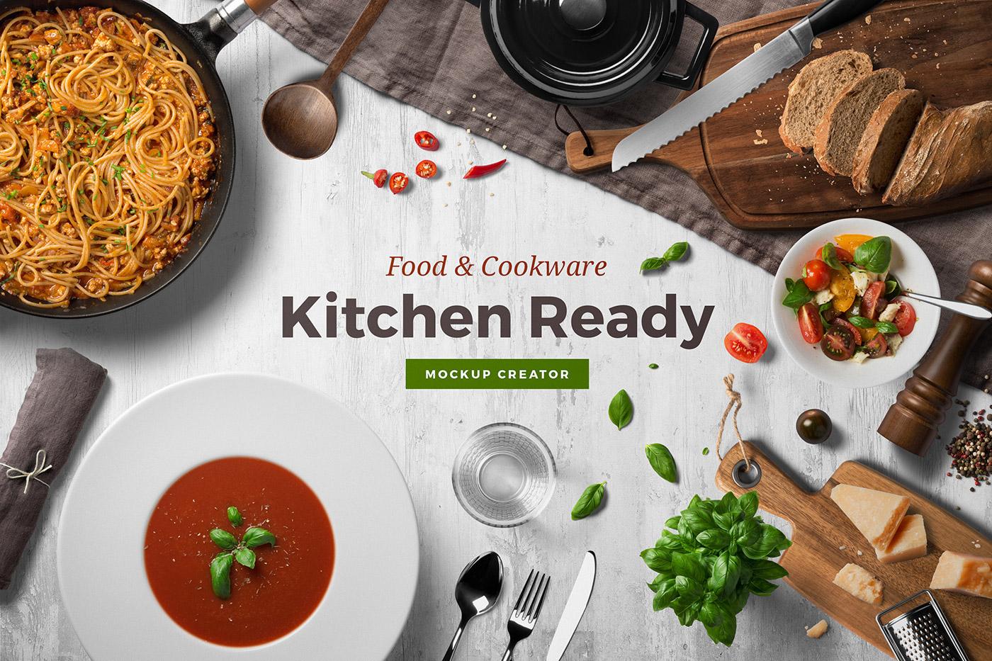 Kitchen ready mockup creator on behance forumfinder Gallery