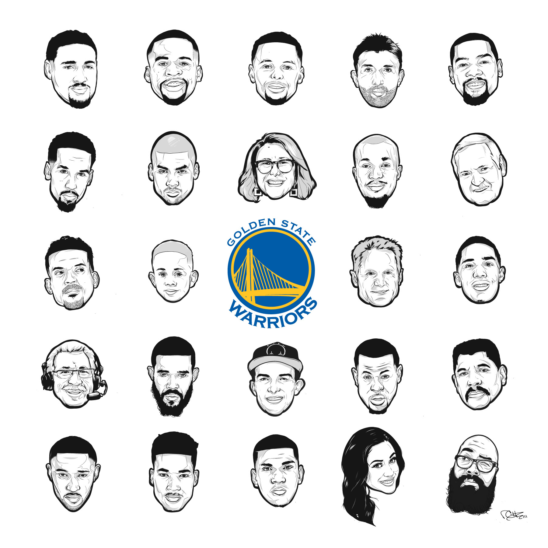 2017 Golden State Warrior Fan Night T-shirt on Behance 86cf8505f