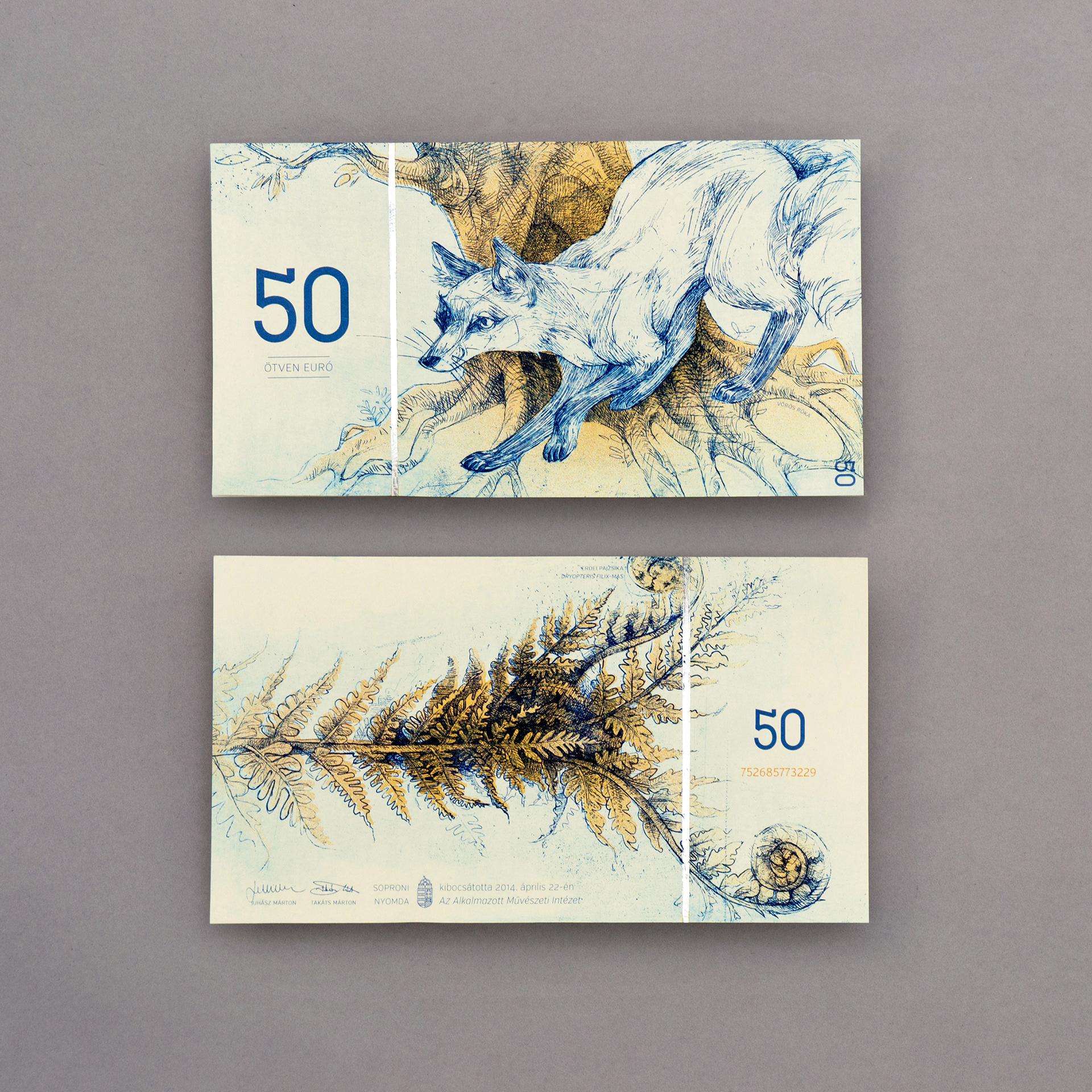 Hungarian paper money on Behance