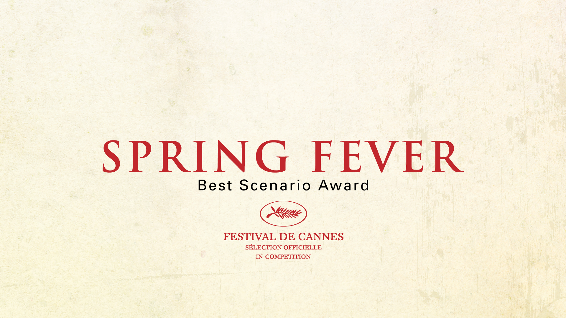 "TITLE FOR THE TRAILER OF ""SPRING FEVER"""