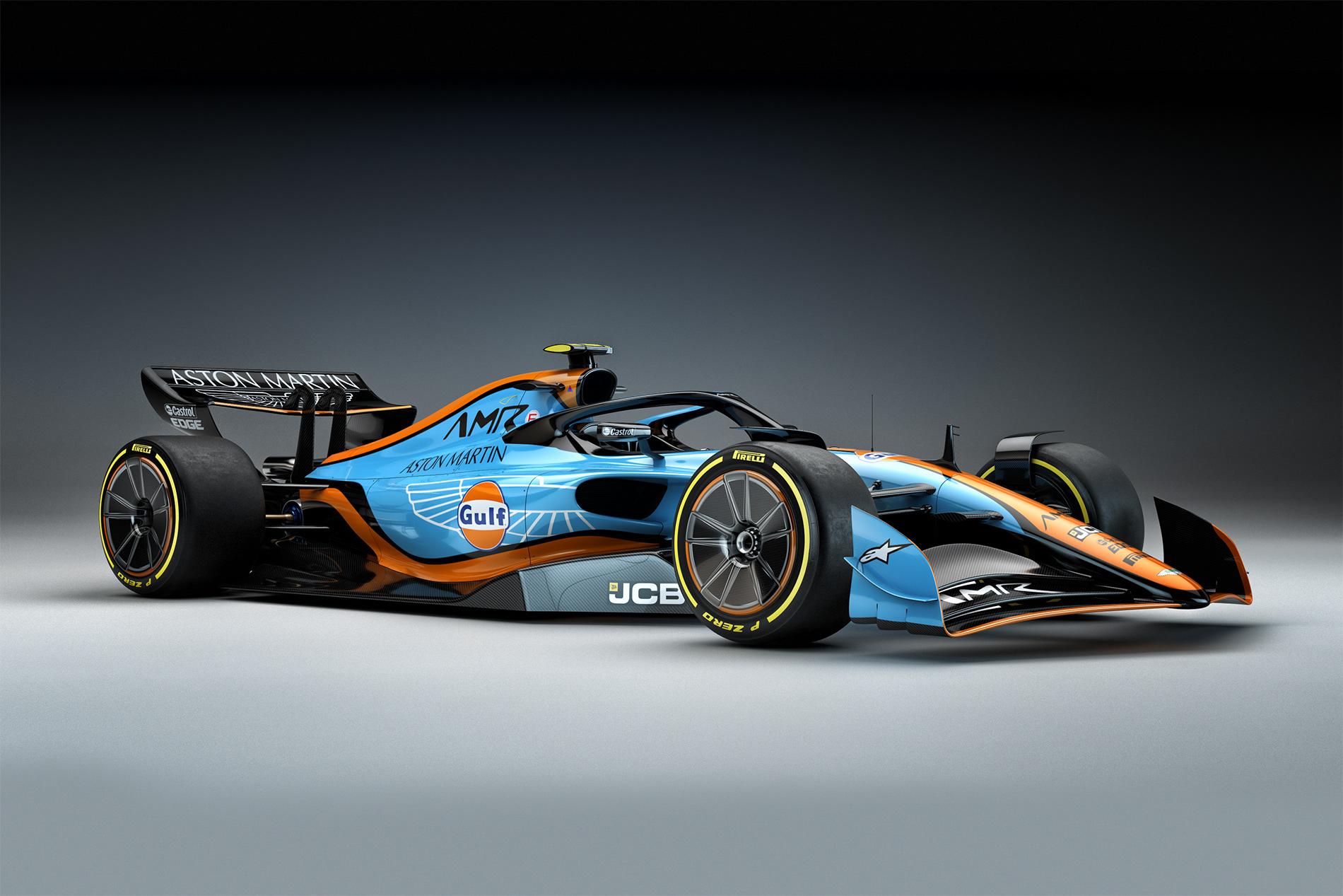 F1 Aston Martin Concept 2021 On Behance