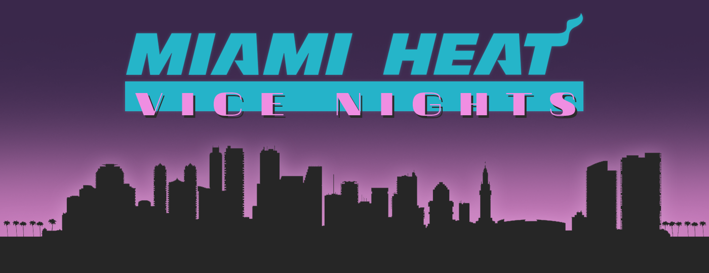 new concept 92eae c5c20 Miami Heat - Vice Nights Alternate Design Project on Behance