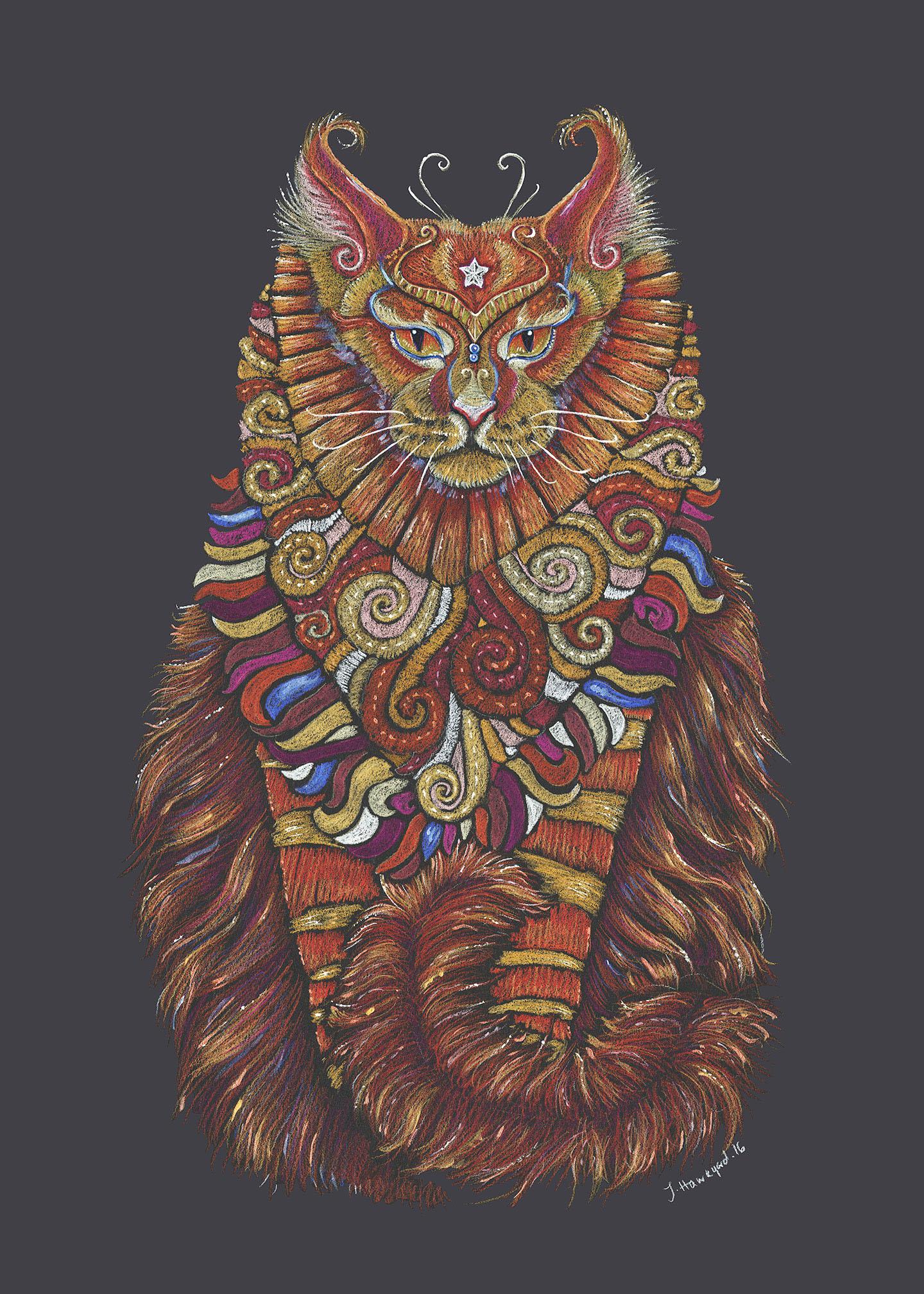 Maine Coon Cat Totem image
