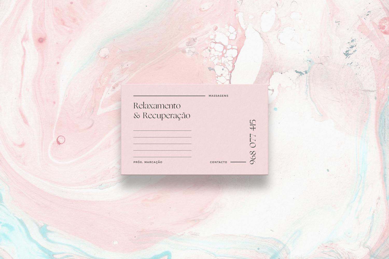 Pastel inspired branding for Adelina Oliveira