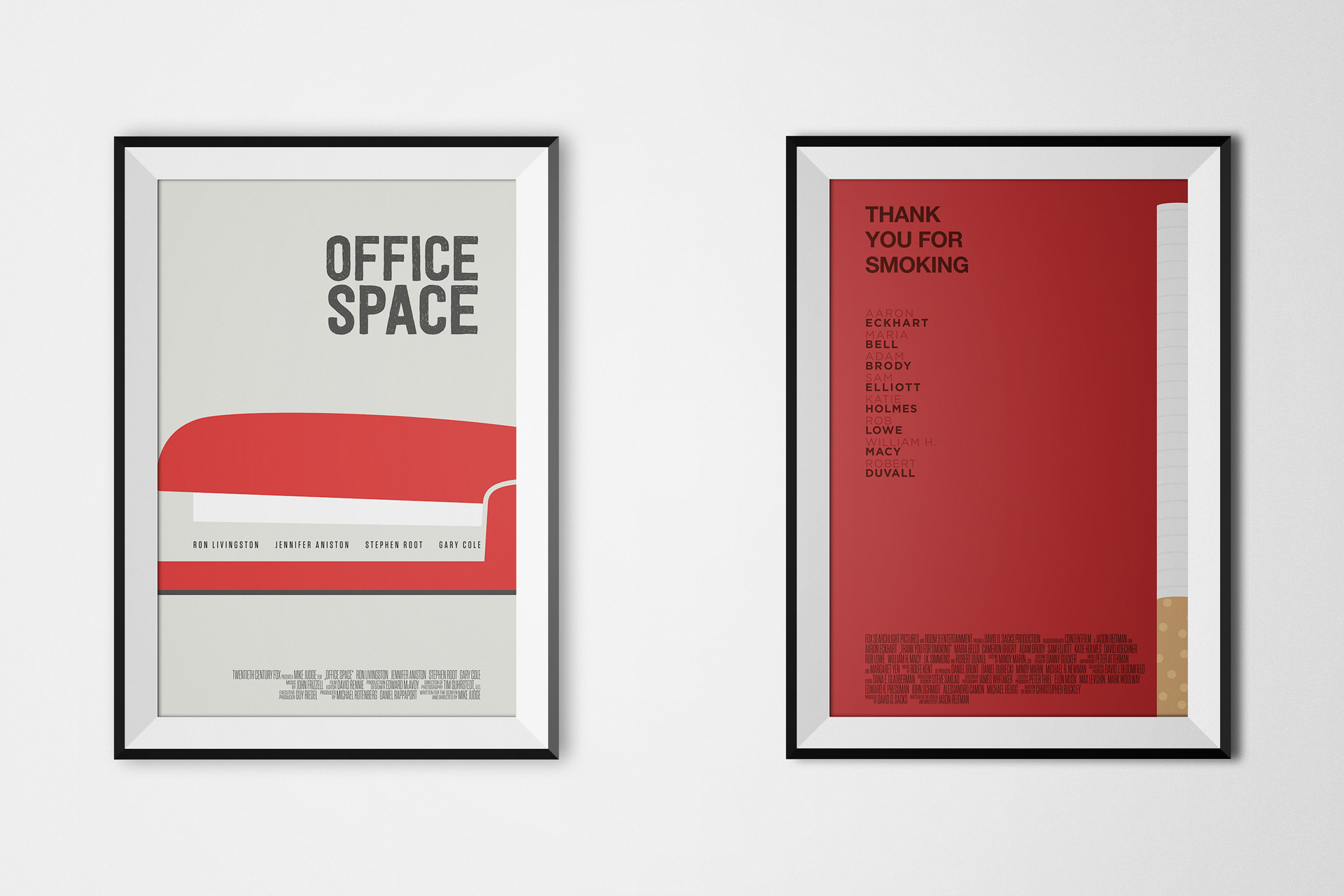 Office Space / Thank you for Smoking