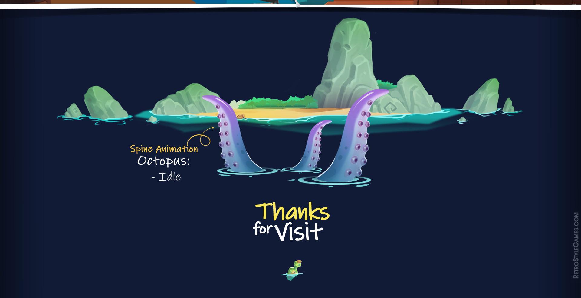 Pirate Beat'em Up - Spine 2D Animation Unity Assets on Behance