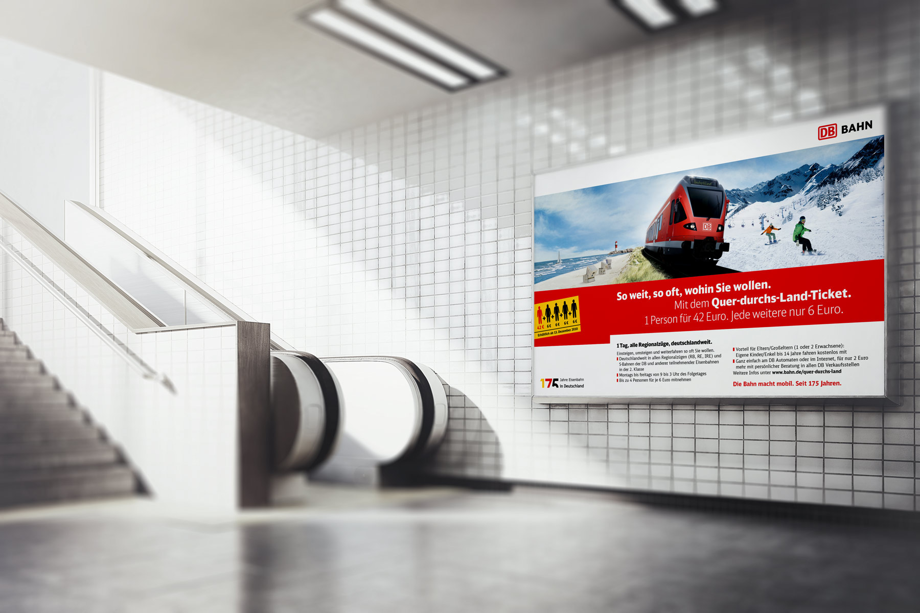 Bahn quer durchs land ticket