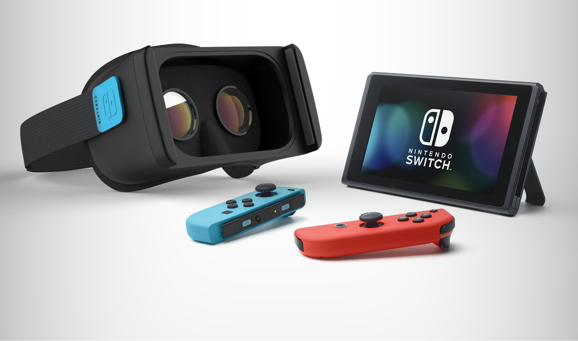 Industrial Design: Nintendo Switch VR Concept