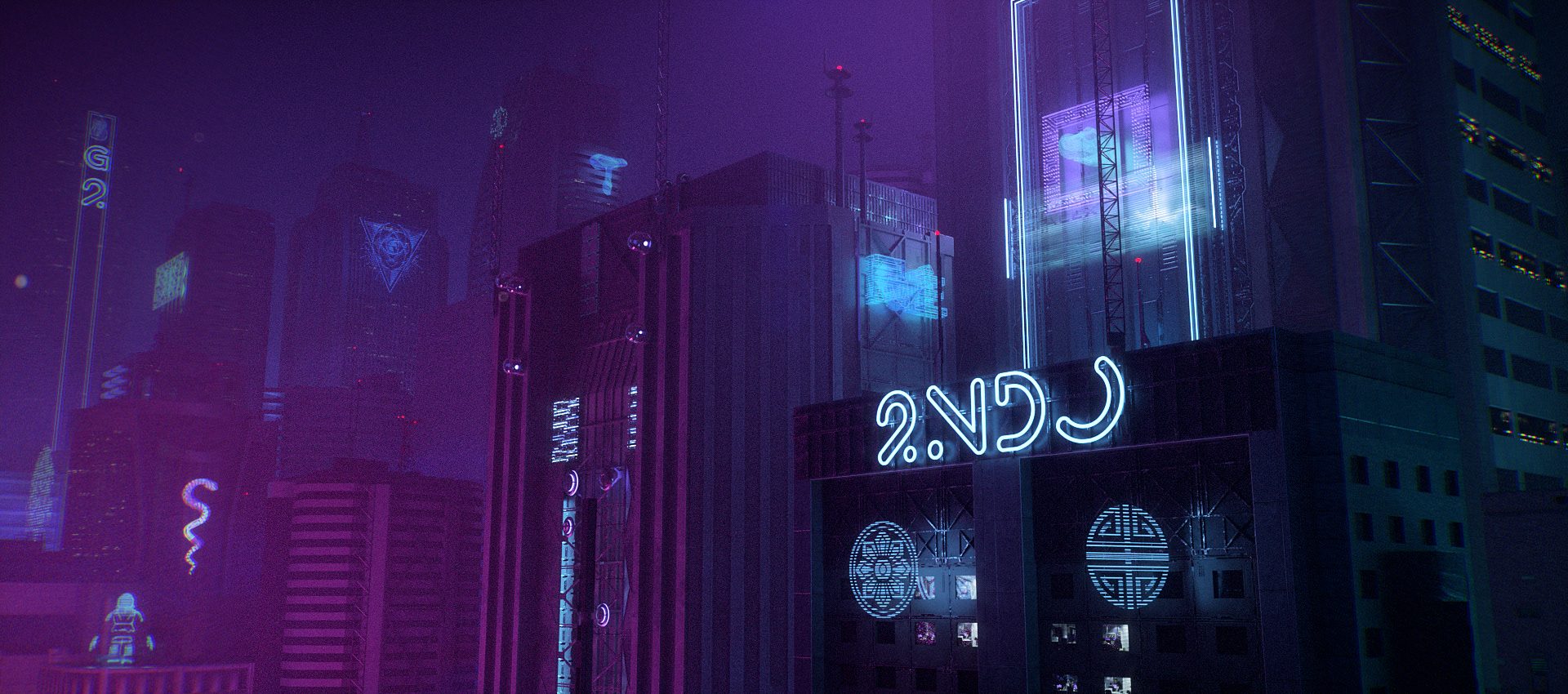 Muse: an Experimental Short Film inspired by Cyberpunk