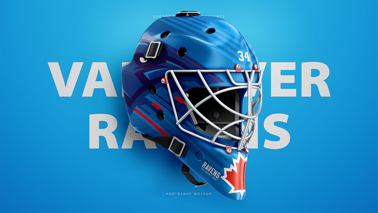Hockey Goalie Mask Mockup Psd Template On Behance