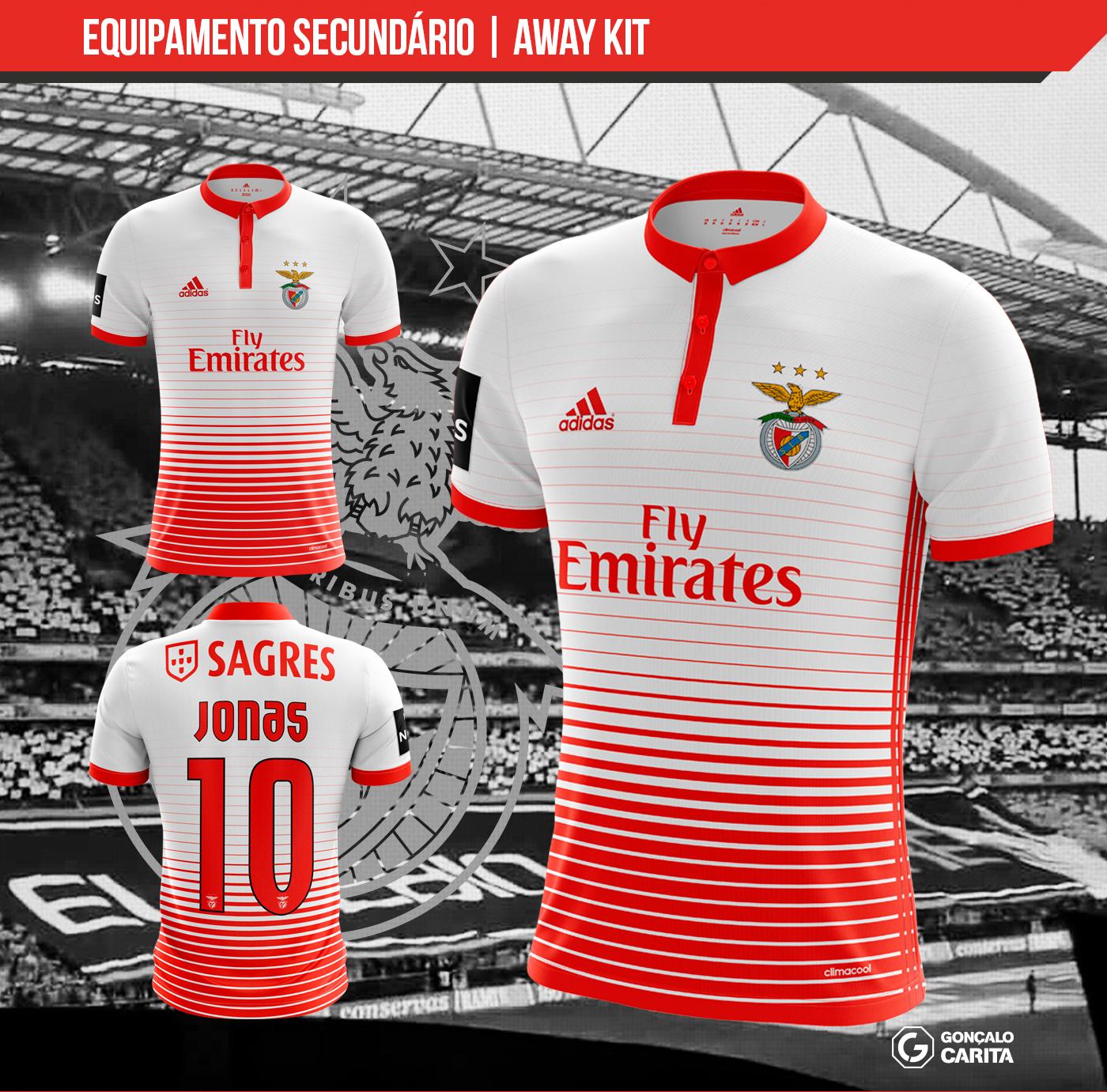 new concept c92dd a4b02 Sport Lisboa e Benfica - Concept Kits 2017 2018 Season on ...