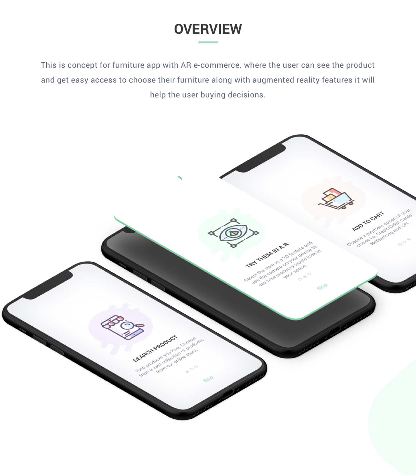Furniture App Concept With AR on Behance