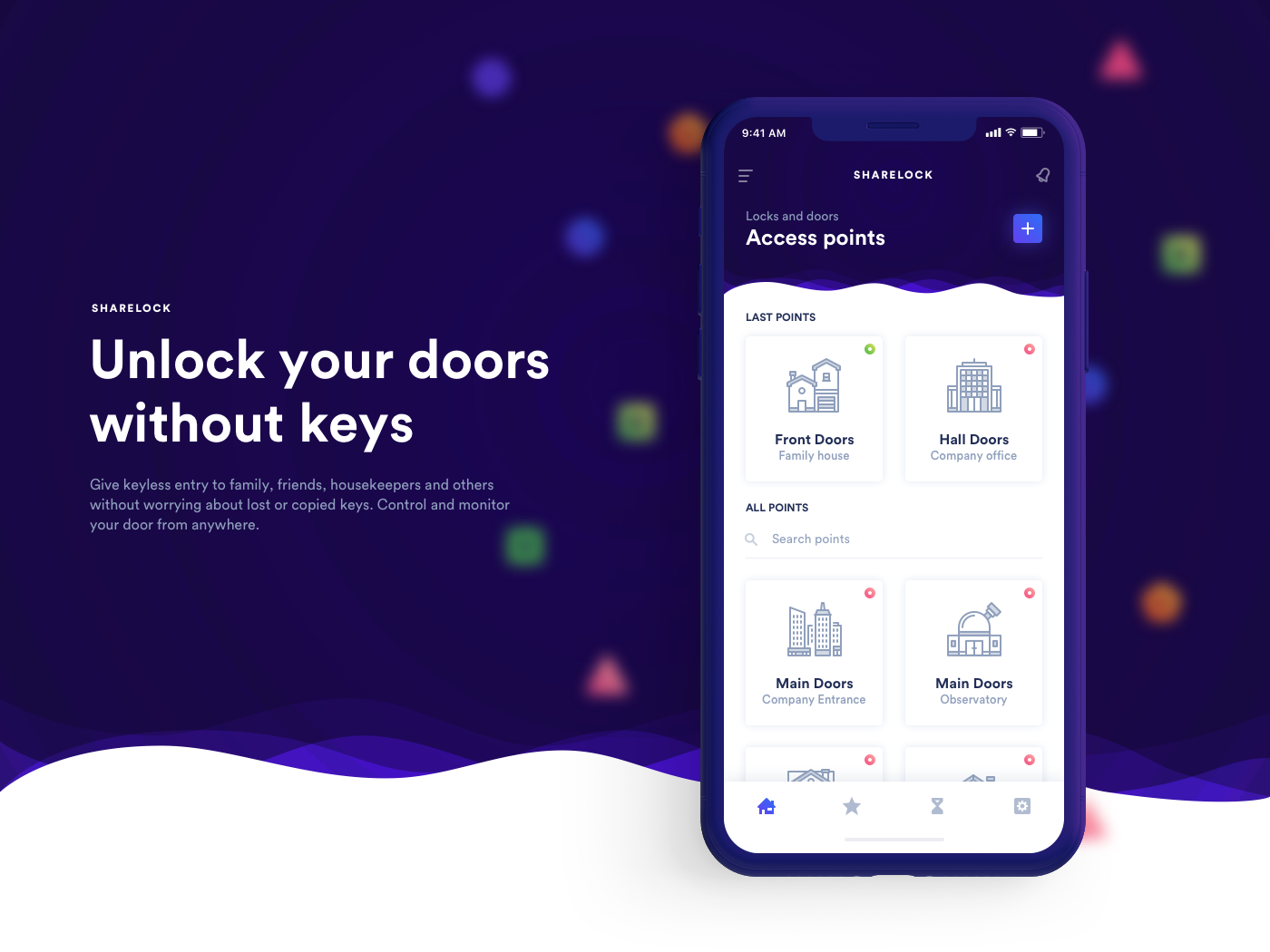 THANK YOU FOR CHECKING US OUT & Sharelock - Unlock your doors without keys on Behance