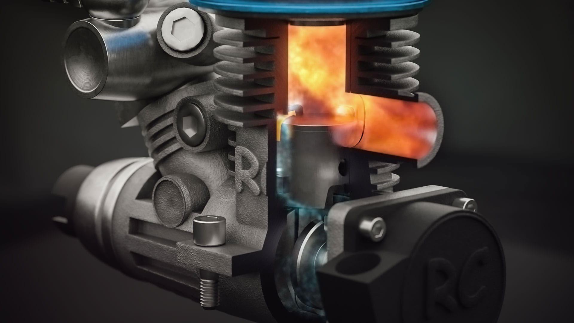fourstroke engine animated engines matt keveney - HD1920×1080