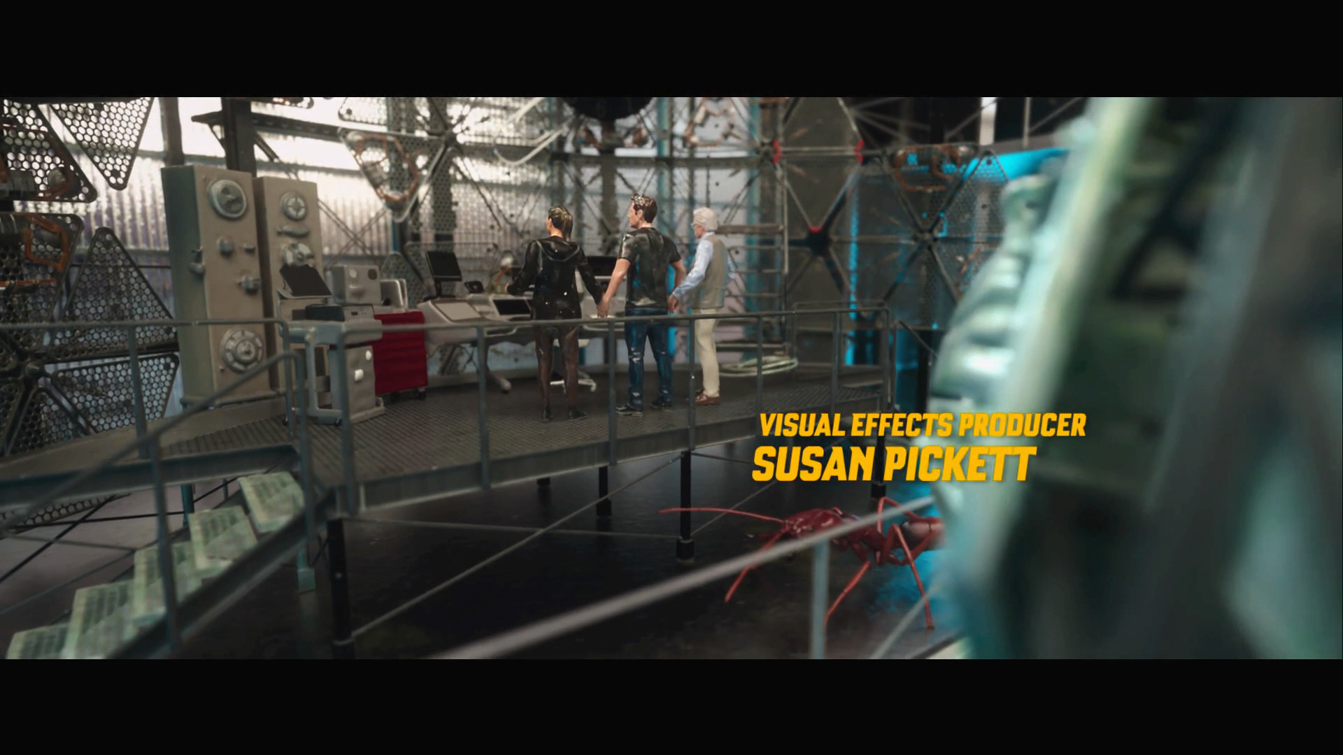 Motion Design: Ant-Man and the Wasp End Titles Sequence