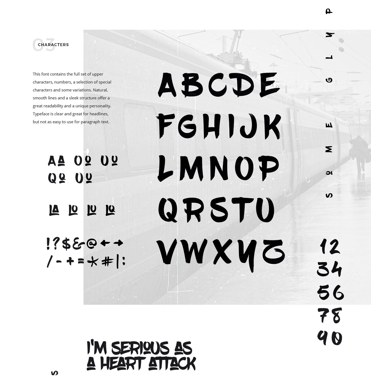 BlowBrush Free Font On Behance