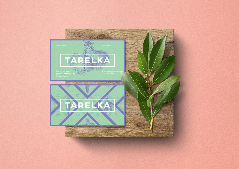 Branding inspiration Tarelka food market