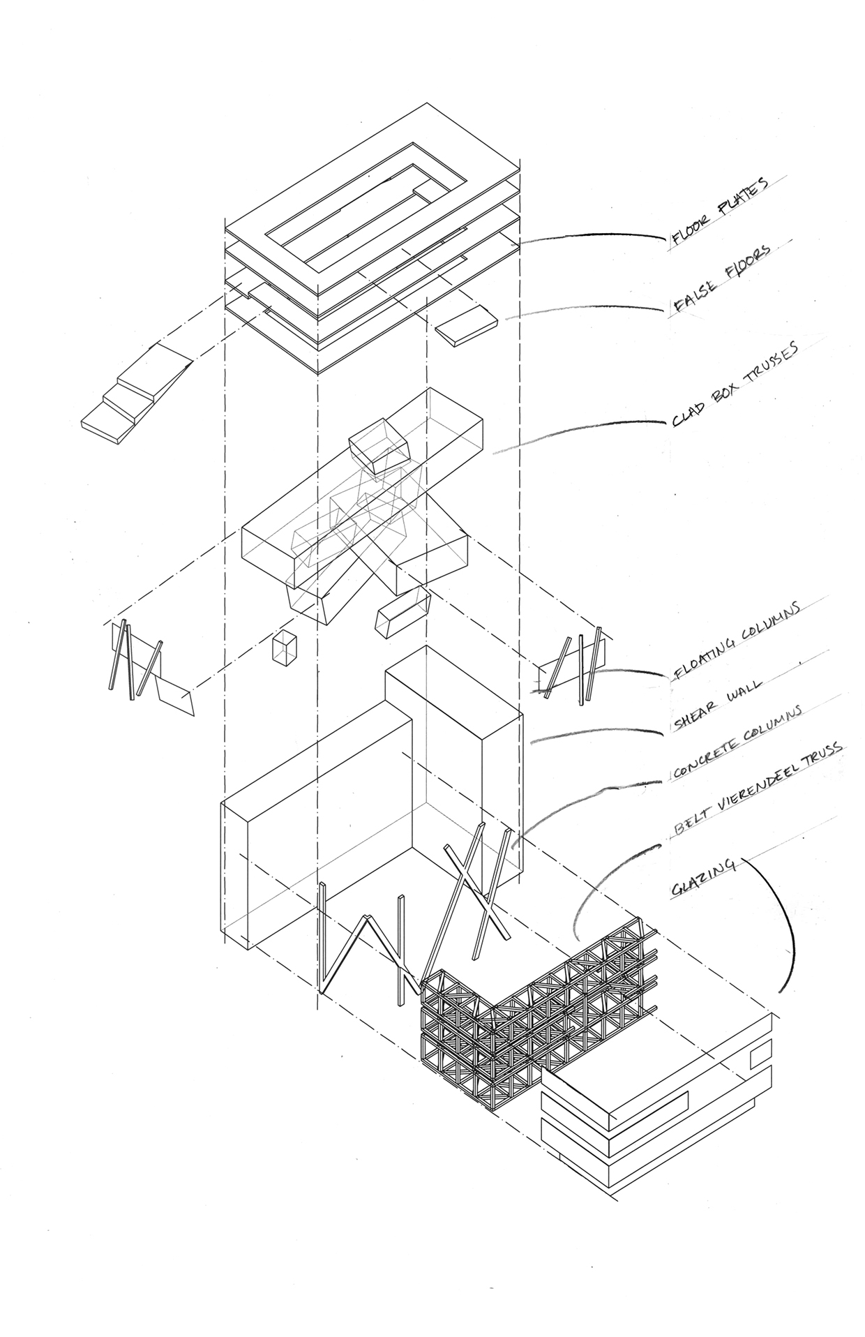 goodman fashion house  architecture of disintegration