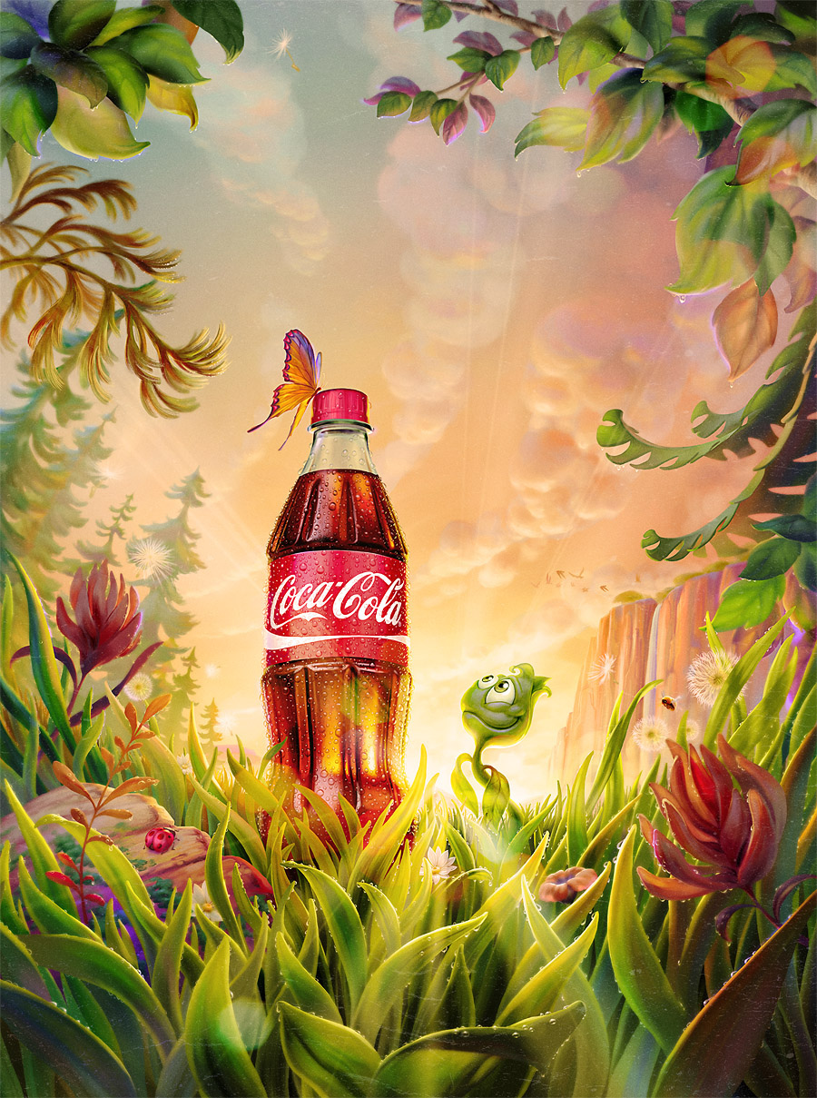 Plant Bottle Coca-Cola par O. Ramos