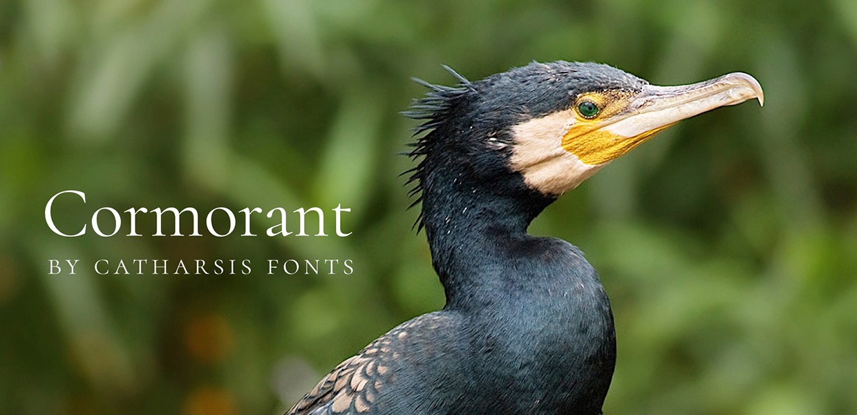 Cormorant an open-source display font family