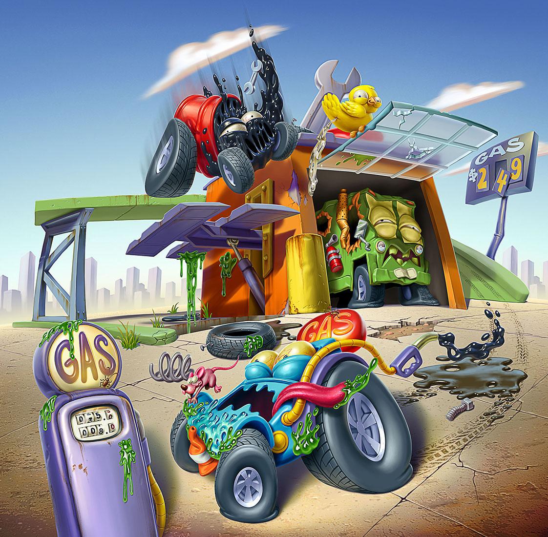 Trash Wheels - PlaySets... par Oscar Ramos