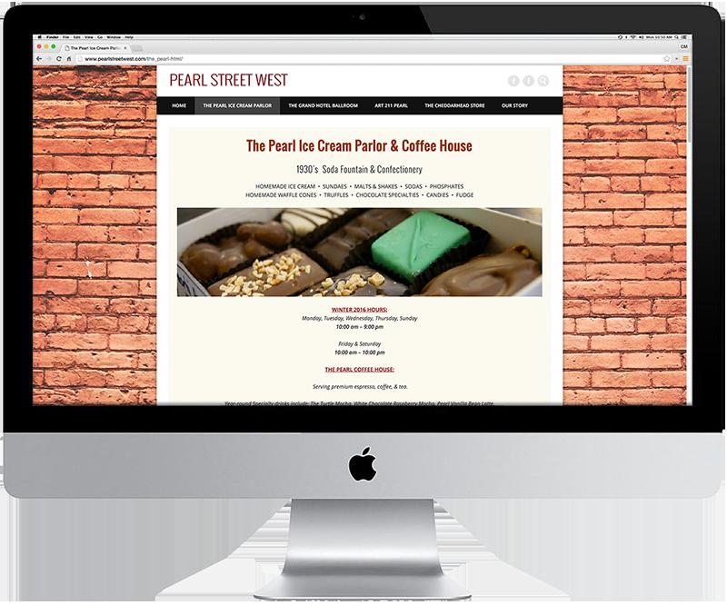 Pearl Street West, Minnesota Web Design