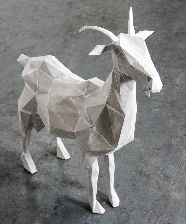 Goat Sculpture