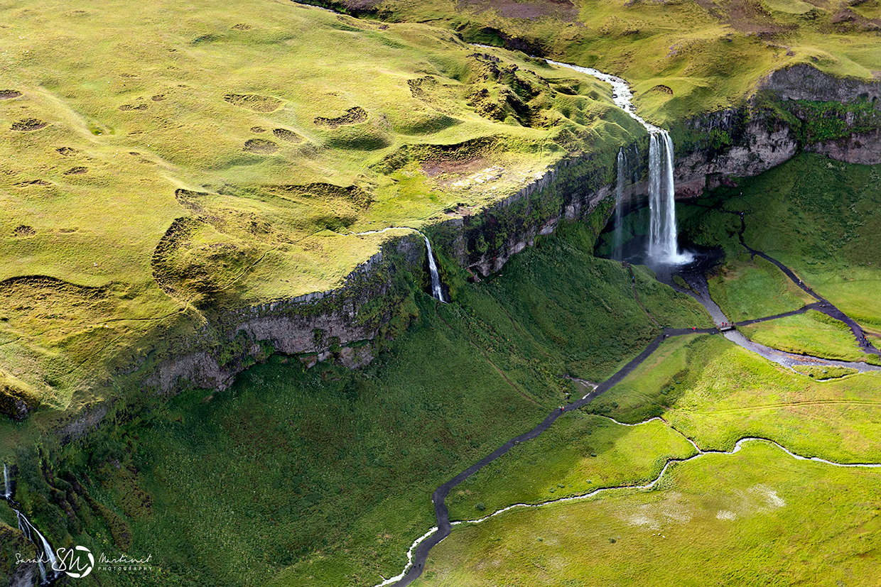 Aerial Iceland
