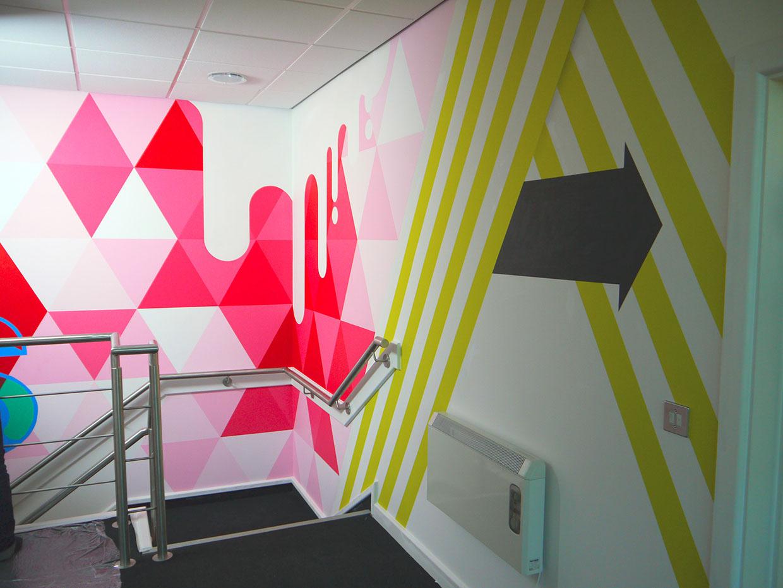 Parker Design Stairwell Graphics