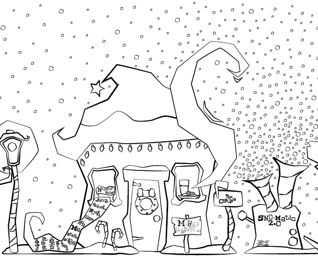 ruff ruffman coloring pages - photo#34