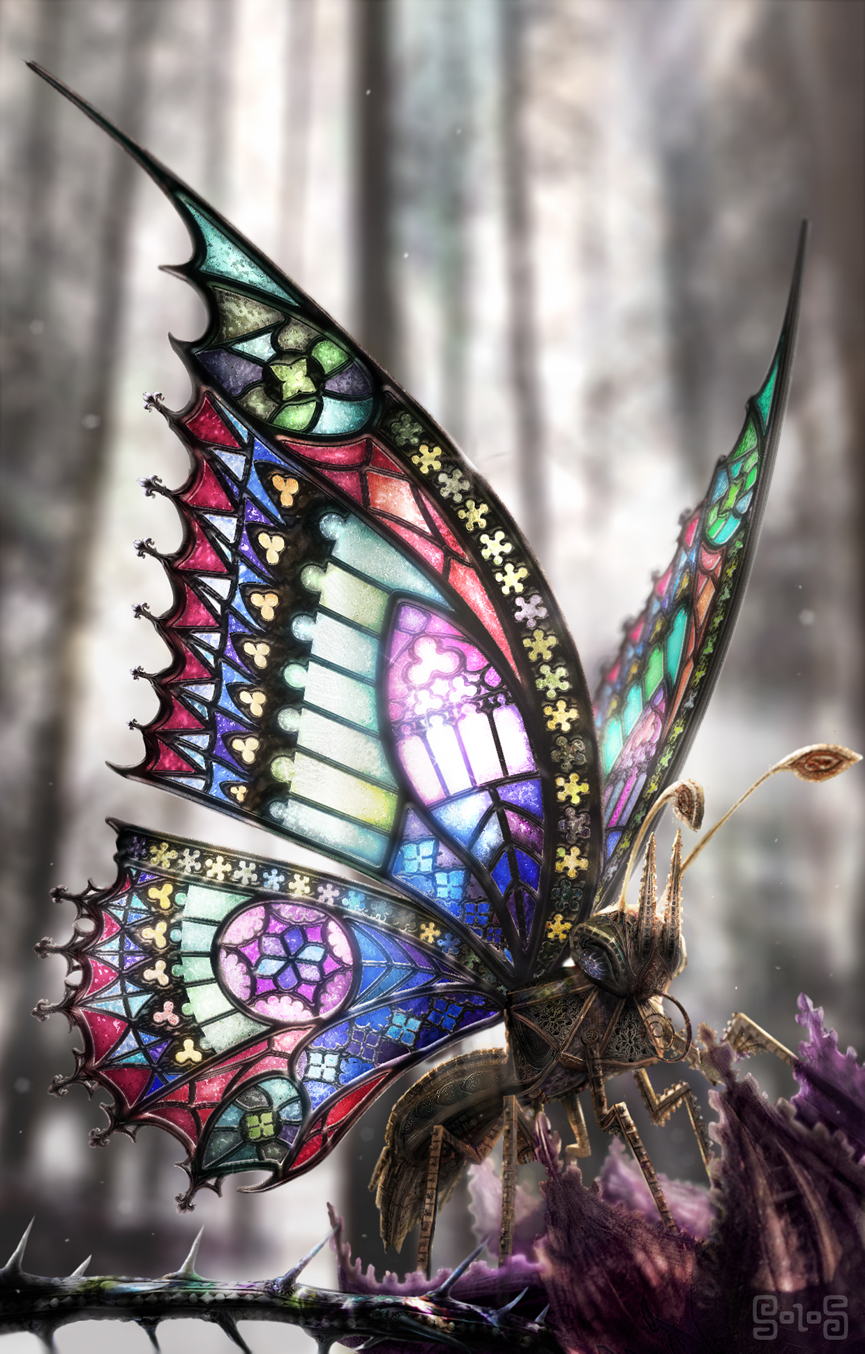 pin gothicbutterfly1440x900downloadfreewidescreenhd