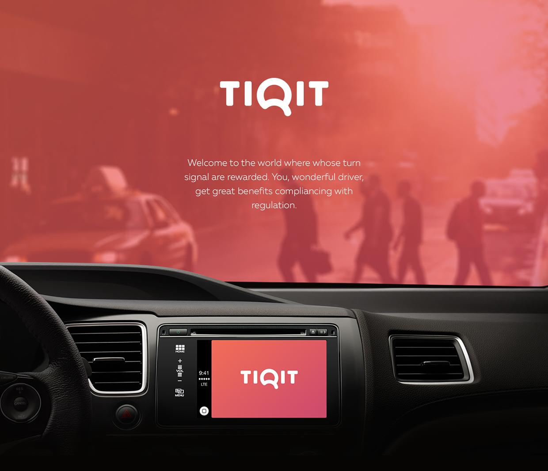 Tiqit App Design