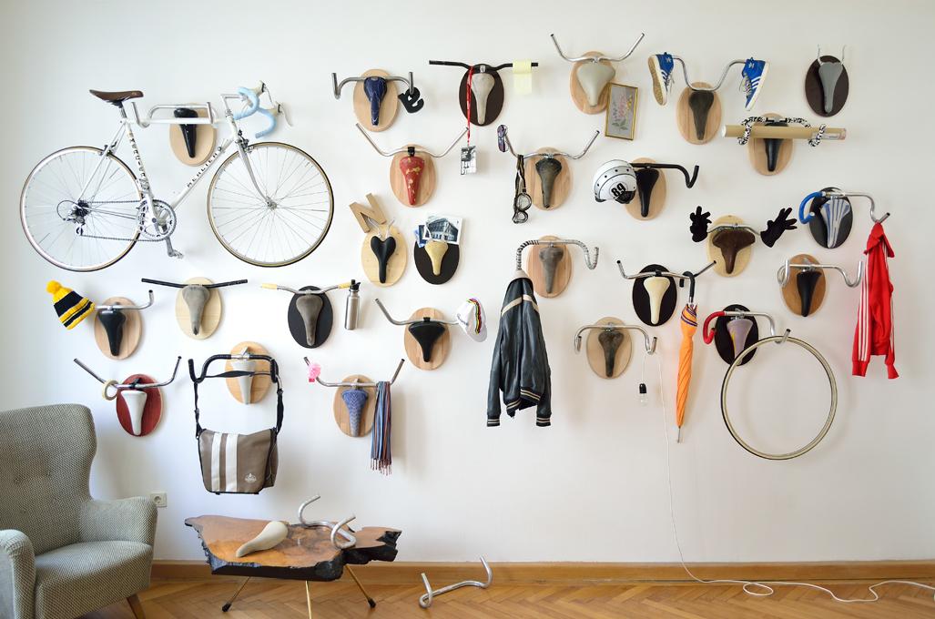 c0e40672bb1938623b9b753c42f52e1d Велосипедные рога или веселая идея для дома или подарка от Andreas Scheiger. svoimi rukami ideya podarka